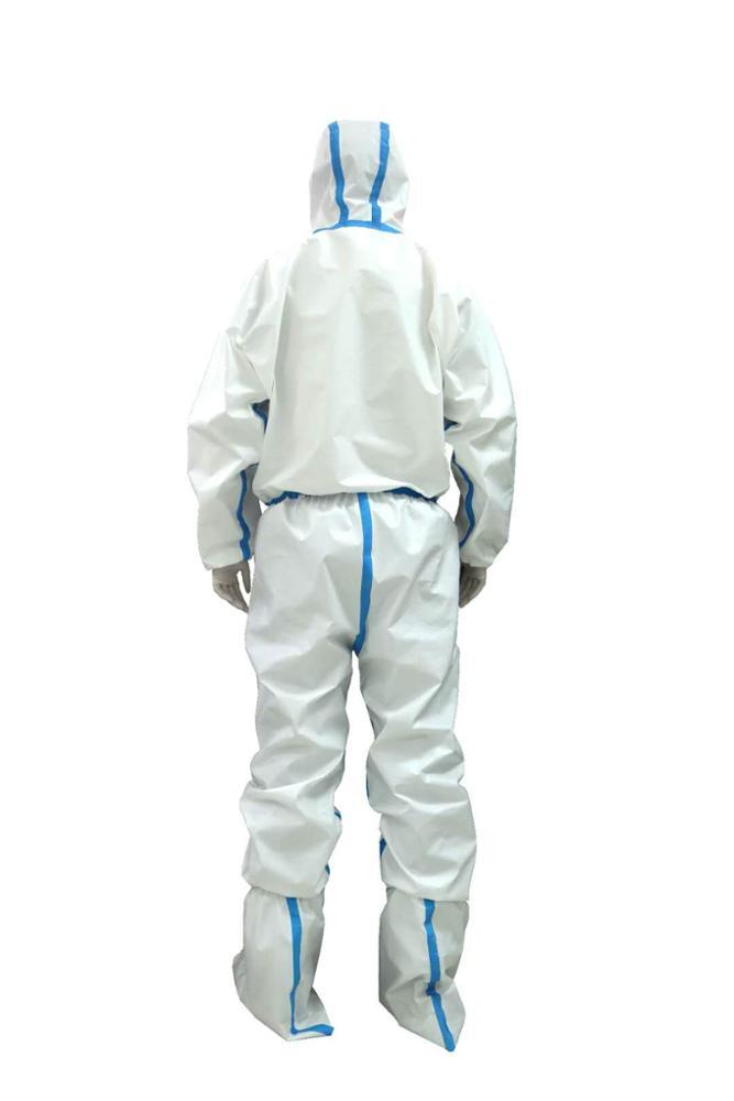disposable hospital medical protective suit virus protection suit coverall  2