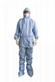 disposable hospital medical protective suit virus protection suit coverall  4