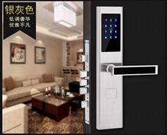 華麗佳APP密碼鎖手機遠程  公寓民宿出租房刷卡鎖酒店賓館鎖