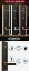 华丽佳星级酒店门锁磁卡感应锁智能门锁电子ic卡锁公寓宾馆刷卡锁