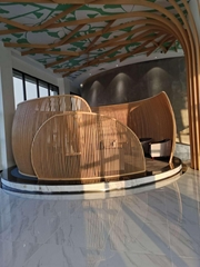 普森建材吊頂鋁方通 仿木紋鋁方通 弧形鋁方通 拉彎鋁方通直銷