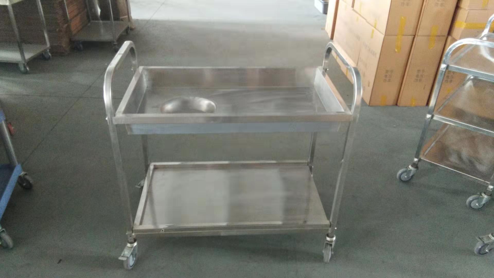 stainless steel kitchen trolley cart  1