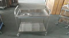 stainless steel kitchen trolley cart
