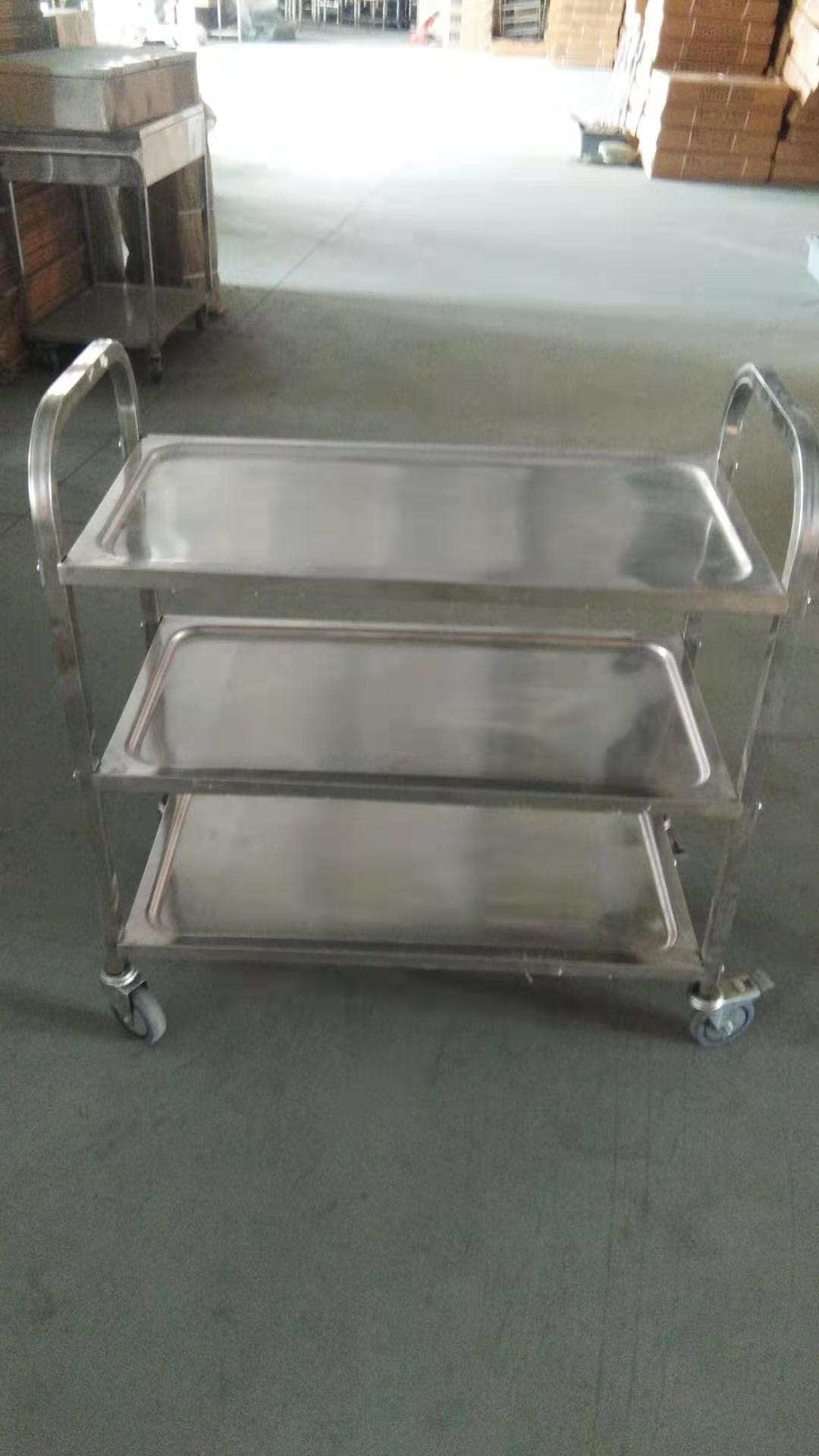 stainless steel kitchen trolley cart  5