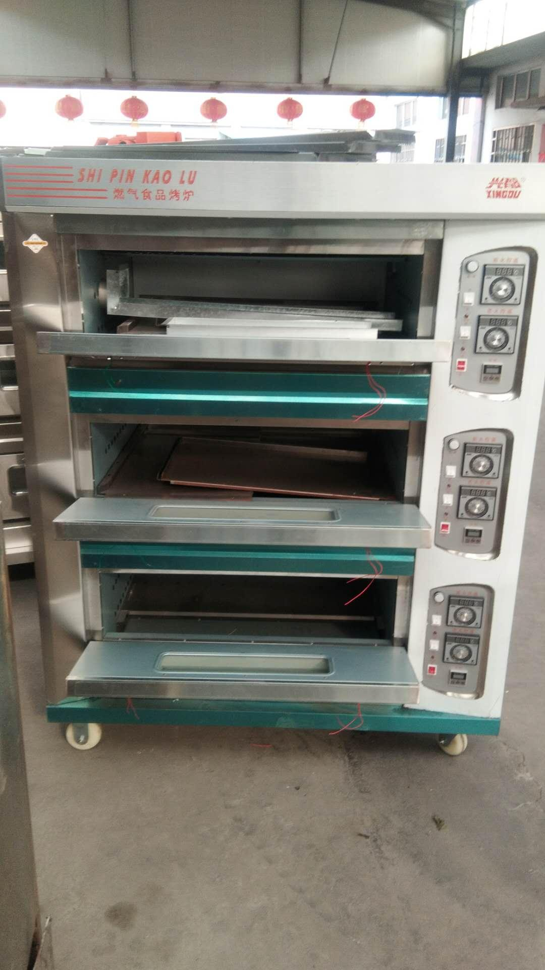 stainless steel cake oven 2