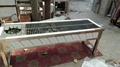 stainless steel kitchen oven nature gas