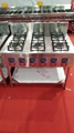 nature gas stainless steel kitchen oven