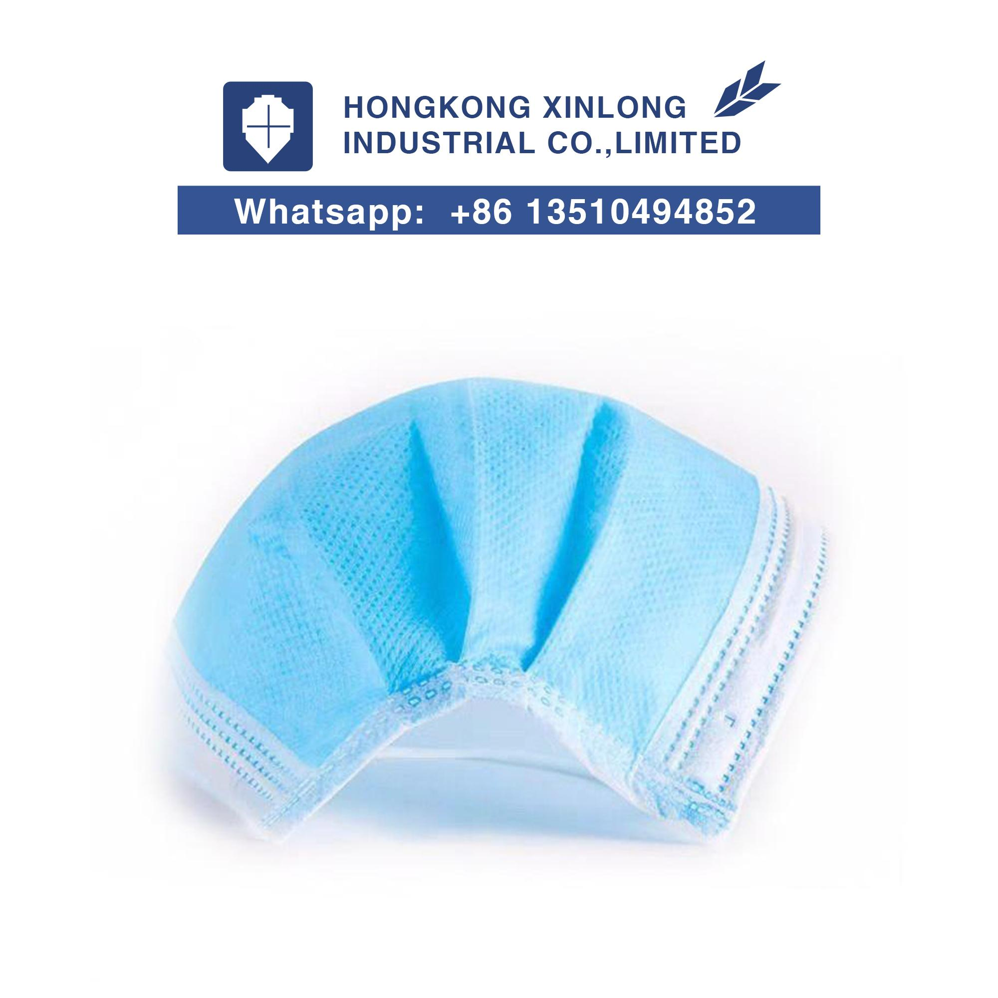 Three-layer Disposable Protective Face Mask With Filter Cloth 2