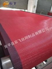 供应辰飞熔喷布机传送带熔喷布机输送带网带耐温耐油