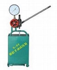 S-SY單缸手動試壓泵鴻源廠家發貨