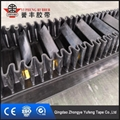 Corrugated sidewall conveyor belt with sidewall and cleats 1