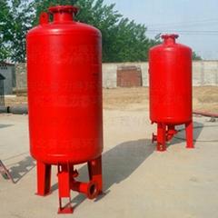 赤峰消防隔膜式气压罐