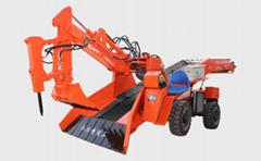 礦用輪式扒渣機 履帶刮板銑挖機 大坡度專用扒渣機