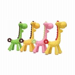 食品级硅胶婴儿磨牙公仔玩具