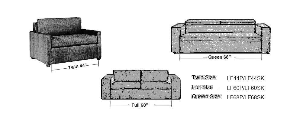 LINKREST 二折沙發床架 LF60SK 加長款  4