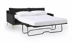 LINKREST 二折沙發床架2660高腳款
