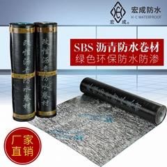 sbs防水卷材價格 防水材料廠家 負5度改性復合防水材料