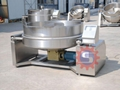 Gas jacketed kettle with mixer  jacketed