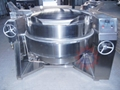 Gas jacketed boiling pot   industrial steam kettle   jacketed kettle price 2