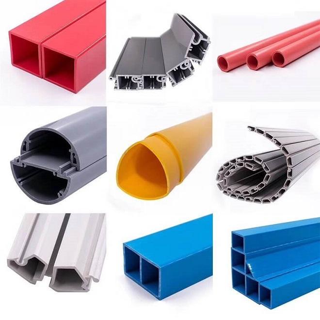 Plastic Extrusion,  Plastic Profile,  Extrusion Pipe,  Extruded profiles 3