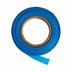 服裝輔料滌綸藍色防護服膠帶條