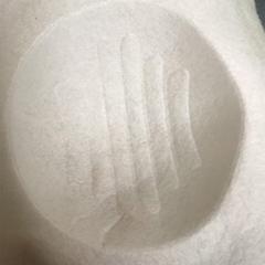 出口歐美KN95口罩專用定型棉針刺熱風棉