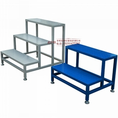 铝合金踏步梯子台阶家用移动三四五步梯踏板梯踩踏台