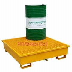 鋼制防洩漏托盤 防滲漏卡板危廢倉庫化學品接油盤