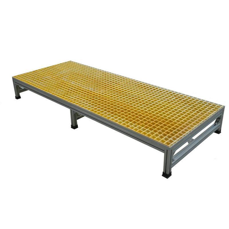 百利恆鋁合金踏步平台工業爬梯凳登高平台防滑踏板機床踏台踏步梯 2