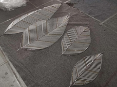 非标花瓣玻璃定制工程灯饰
