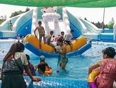 水上蹺蹺板水上遊樂設備廠家供應