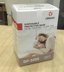 CE FDA FFP2 KN95 high quality protective mask