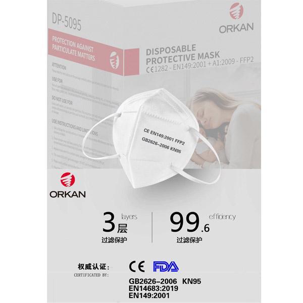 CE FDA FFP2 KN95 high quality protective mask 4