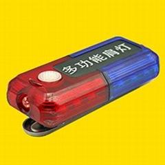 紅藍爆閃肩燈,執勤肩燈,紅藍充電肩燈