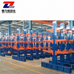 ISO9001 factory price customized steel heavy duty cantilever rack