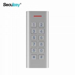 New product 2019 Metal keypad Password door lock access control system
