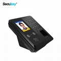 TCP/IP Biometric Face Time Attendance Software & Access control 5