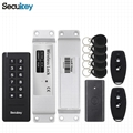 Security gates keyless door lock kit