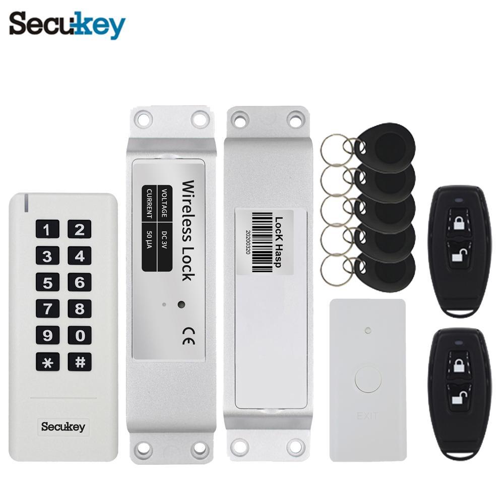 Security gates keyless door lock kit wireless access control 5