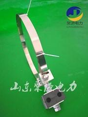 杆用adss/opgw引下線夾 光纜引下線卡具原廠生產供應