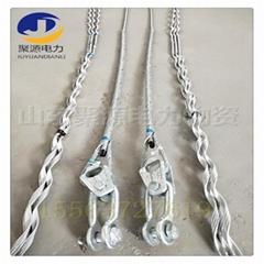 OPGW光纜導線耐張安全備份線夾金具 備份線夾安裝施工