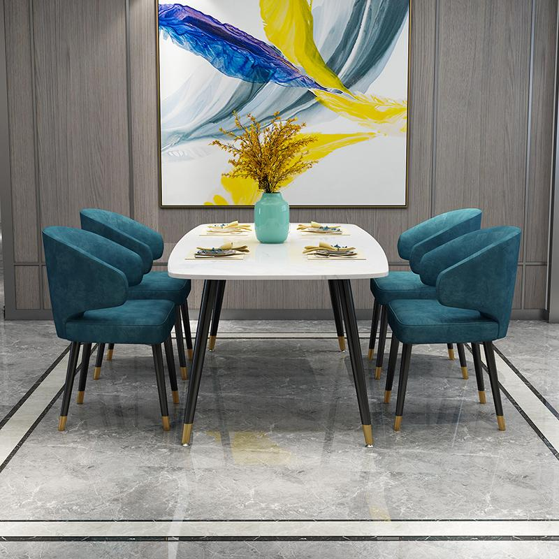 Modern Classic Designer Aston Dining with arms by Minotti 2