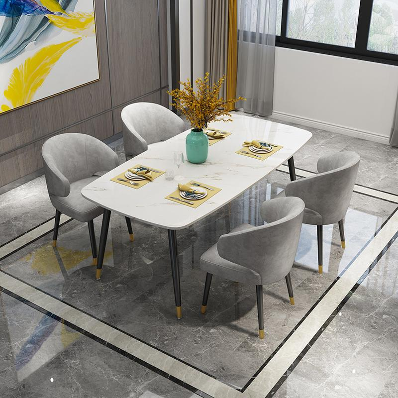 Modern Classic Designer Aston Dining with arms by Minotti 3