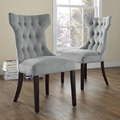 Modern Home Furniture Clairborne Tufted Dining Chair 2