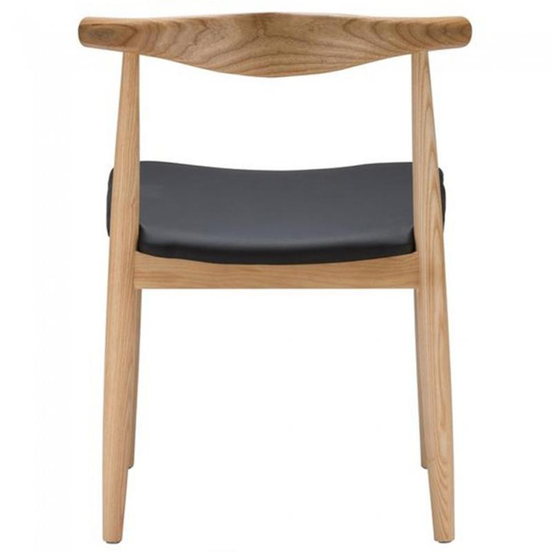 Replica Wood Furniture Elbow Dining Chair CH20 3