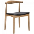 Replica Wood Furniture Elbow Dining Chair CH20 4
