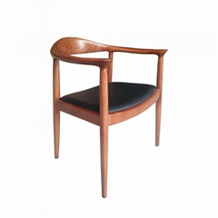 Mid-century design solid wood Kennedy Arm Chair