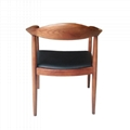 Mid-century design solid wood Kennedy Arm Chair 2