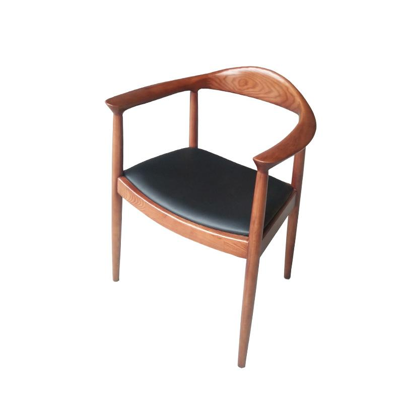 Mid-century design solid wood Kennedy Arm Chair 3
