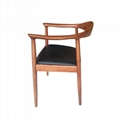 Mid-century design solid wood Kennedy Arm Chair 4